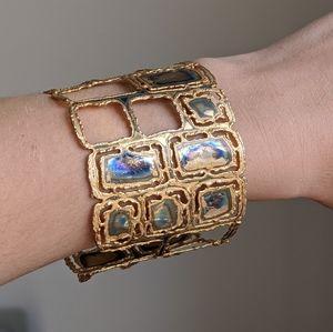Vintage Brass bracelet